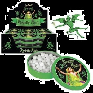Candy for Halloween Absinthe Flavored Mints 2012