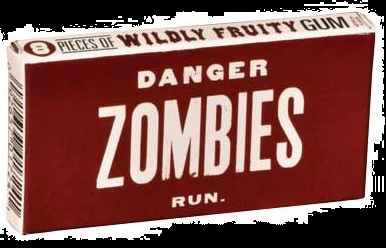 Buy Zombie Fruity Gum for Halloween 2012