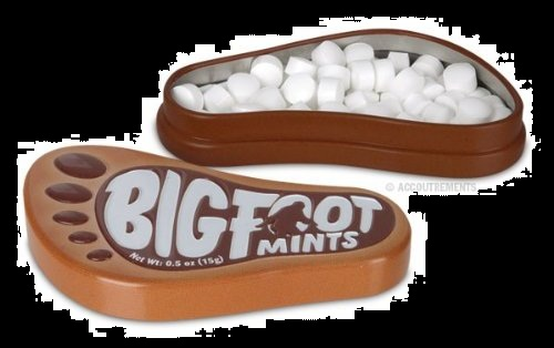 Candy for Halloween 2012 Rootbeer Flavored Bigfoot Mints