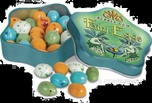 Candy For Halloween Fairy or Fae Eggs Gum