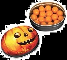 Candy For Halloween Pumpkin Spice Gum and Tin
