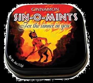 Candy For Halloween Sin-O-Mints Cinnamon Mints