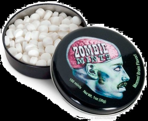 Candy For Halloween Zombie Mints