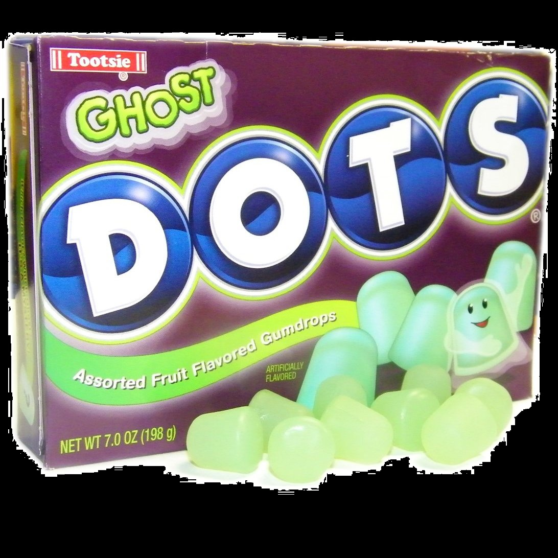 Candy for Halloween Ghost DOTS Season Candy