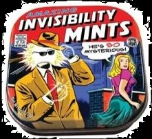 By Candy for Halloween Invisibility Mint Candies