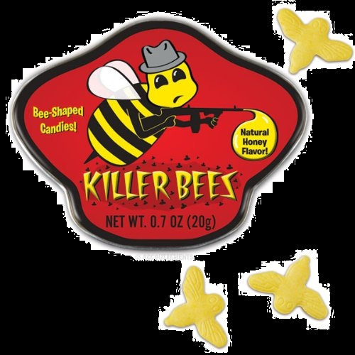 Candy For Halloween Killer Bees Honey Candy