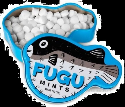 Candy For Halloween Poisonous Fugu Fish Mints